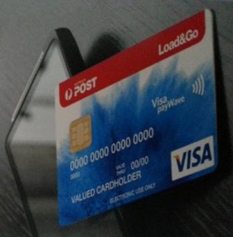 load go australia posts visa prepaid card an alternative to petty cash - Load Prepaid Card